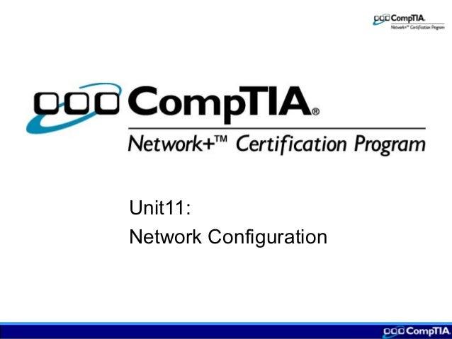 Unit11: Network Configuration