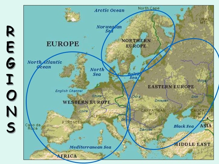 Physical geography of Europe