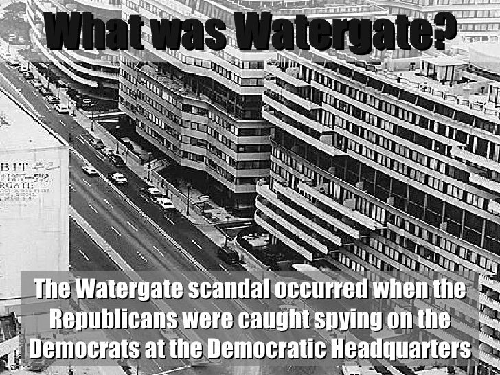 an analysis of the watergate scandal in united states The watergate scandal was a major political scandal that happened in the united  states between 1972 and 1974 it began with a break-in at.