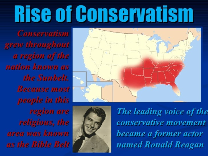 conservatism in 1980s Conservatism rise of the conservatives 1980s liberal vs conservative liberal liberalism is a belief that government has a responsibility to actively solve.