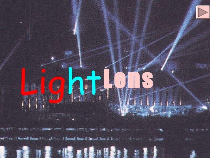 Unit 12 3] lens