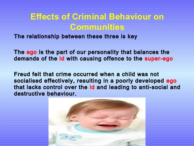 family effects on criminal behavior How do genes influence criminal behavior print leading to impulsive and aggressive behavior in the men of the family this study showed the effect of genes.