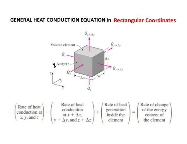 general heat conduction equation