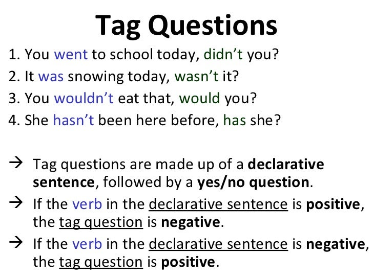 tag sentence examples