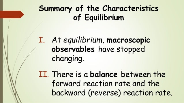 Chem 2 - Chemical Equilibrium II: The Reltionship Between