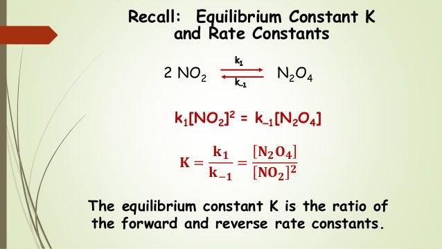 Chem 2 - Chemical Equilibrium III: The Equilibrium Constant Expressio…