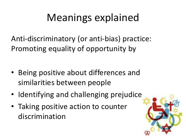 what is anti bias practice