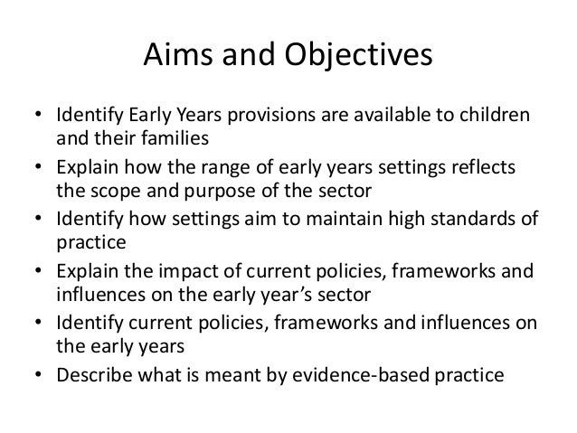 how the range of early years settings reflects the scope and purpose of the sector Guide to the early years foundation stage in steiner waldorf early childhood settings 1  early years sector  the early years foundation stage in steiner.