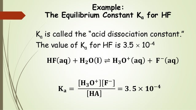 determination of dissociation constant for a weak acid by using spectrophotometer Ka acid dissociation constant study play  (or a weak base and its conjugate acid) that resists ph change by neutralizing added acid or added base .