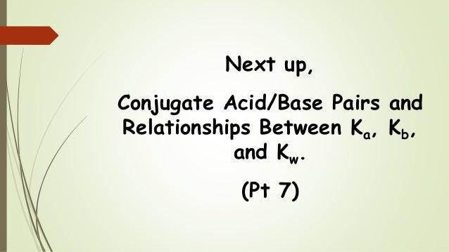 Conjugate acid base pair yahoo dating