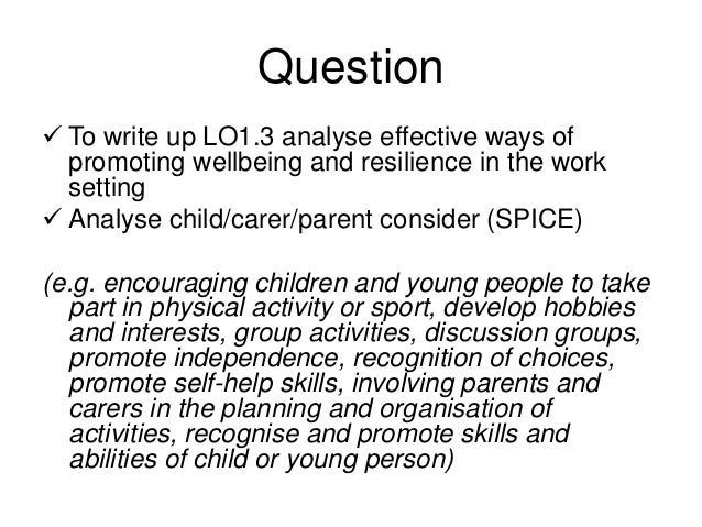 cyp core 3 1 task 3 Cyp core 31: understand child and young person development.