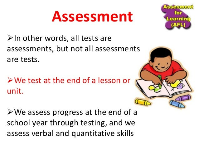 Unit 1 a) meaning nature and functions of assessment Slide 3