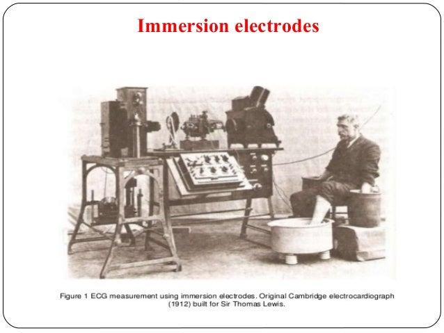 Immersion electrodes