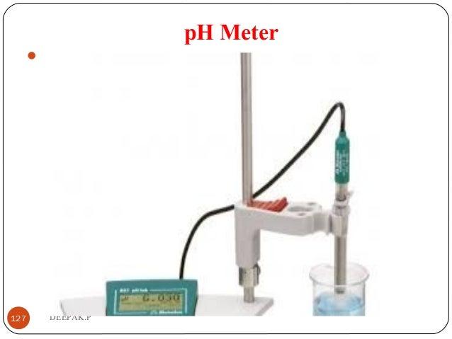 pH Meter  127 DEEPAK.P