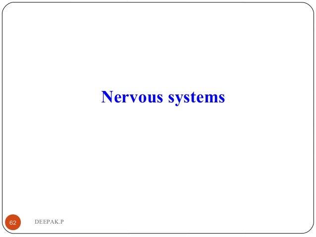 DEEPAK.P62 Nervous systems