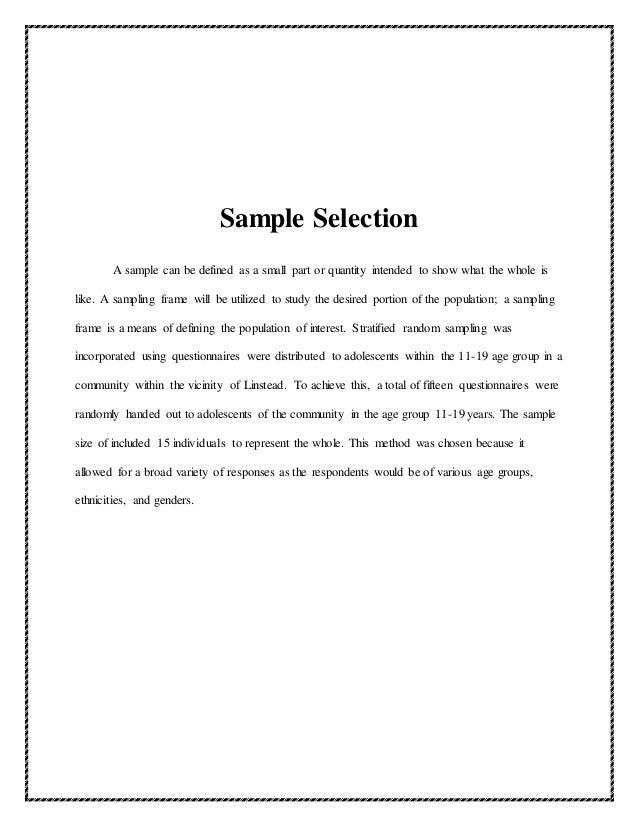 Funky Sampling Frame Definition Sociology Images - Frames Ideas ...