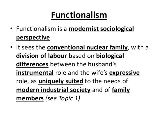 how sociological theories impact the family Modern sociological theory descends predominately from functionalist (durkheim) and conflict-centered (marx and weber) accounts of social structure, as well as the symbolic interactionist tradition consisting of micro-scale structural and pragmatist (mead, cooley) theories of social interaction.