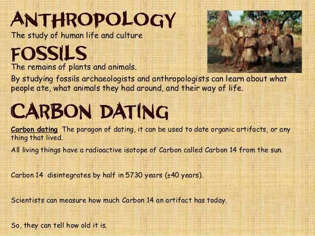 Can carbon dating be used on stone