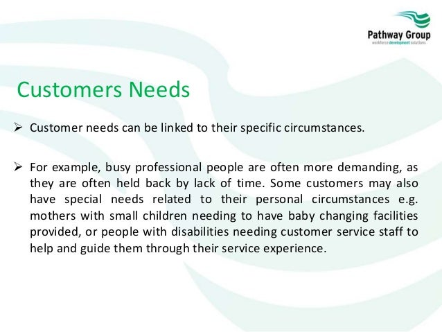 Customer Service Level 1: Working in a Customer Services Environment