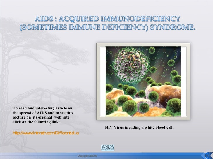 an analysis of the acquired immune defficiency disease and its cause The acquired immune deficiency syndrome  used for acquired immune deficiency syndrome it is a disease  defficiency on plants.