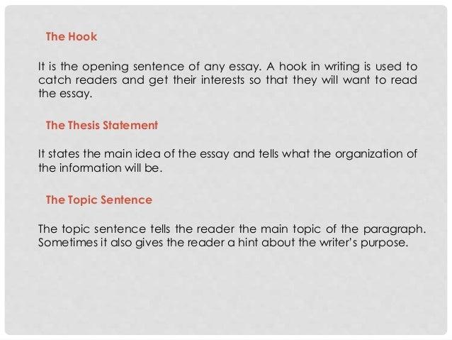 a hook for an essay