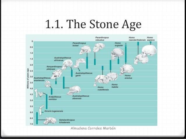 1.1. The Stone Age Almudena Corrales Marbán