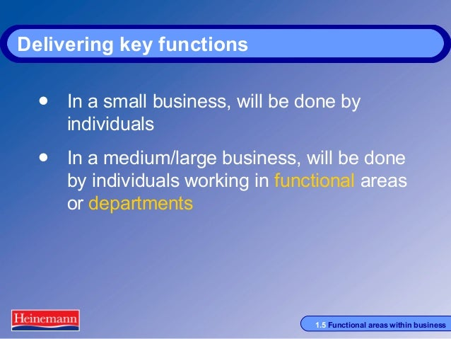 p4 functional areas in business Students will understand concepts in the functional areas of business including   learning outcomes linked to goals 1-4 (general knowledge and skills.