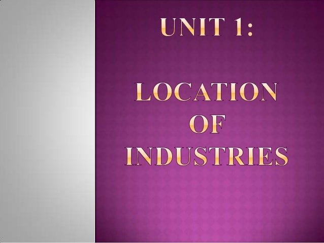 By the word Industry, we mean the economic activity which creates forms utility. In other words, it creates economic value...