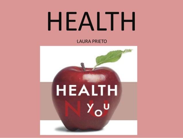 HEALTH LAURA PRIETO  ´