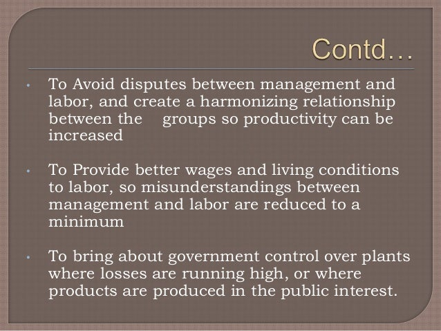 role of government in regulating the employment relationship