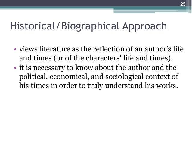 Historical criticism.