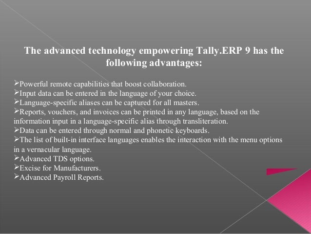 introduction of tally erp 9 pdf