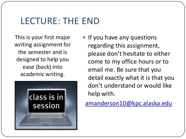 address essay lecture Answers on examinations essays book reviews lecture journals learning journals reading circles formal structure of essays, written exercises and theses use of sources in written work the content of your answer should address what has been asked and not bring in material that is beside the point answers are not.