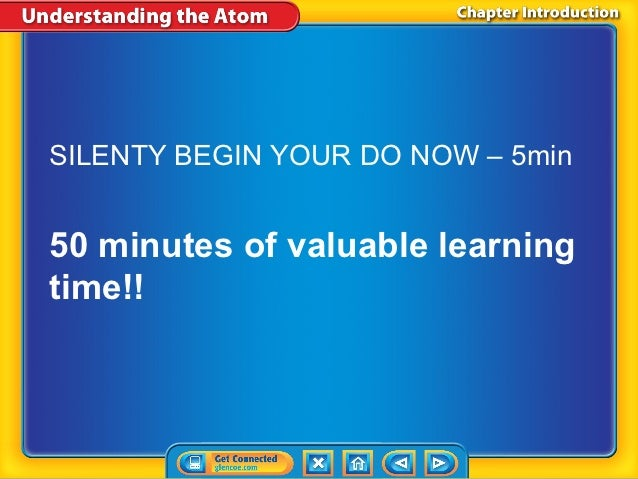 SILENTY BEGIN YOUR DO NOW – 5min50 minutes of valuable learningtime!!