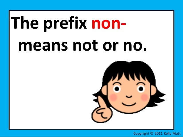 Unit 1 lesson 4 vocabulary strategies prefixes non mis-