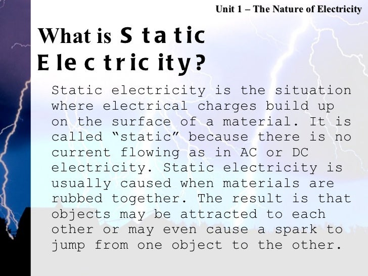 Static Electricity Definition Bitesize