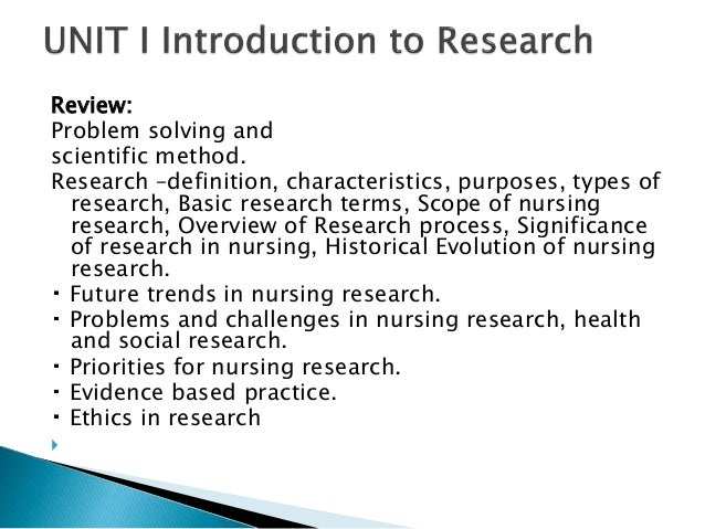 nursing research topics in medical surgical nursing