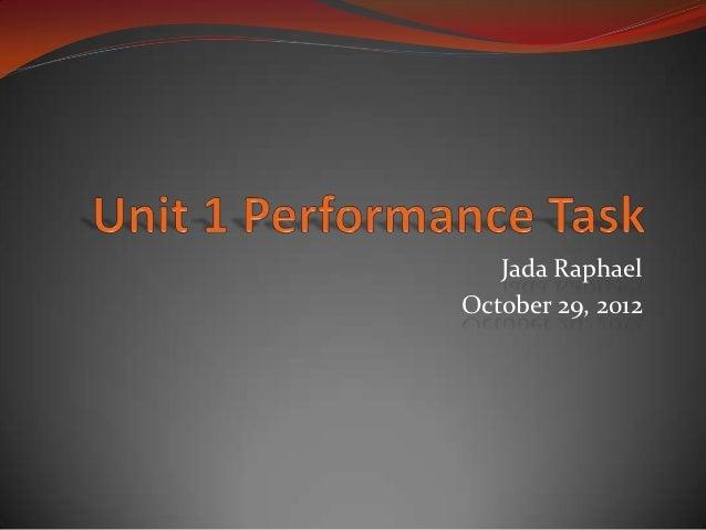 Jada RaphaelOctober 29, 2012