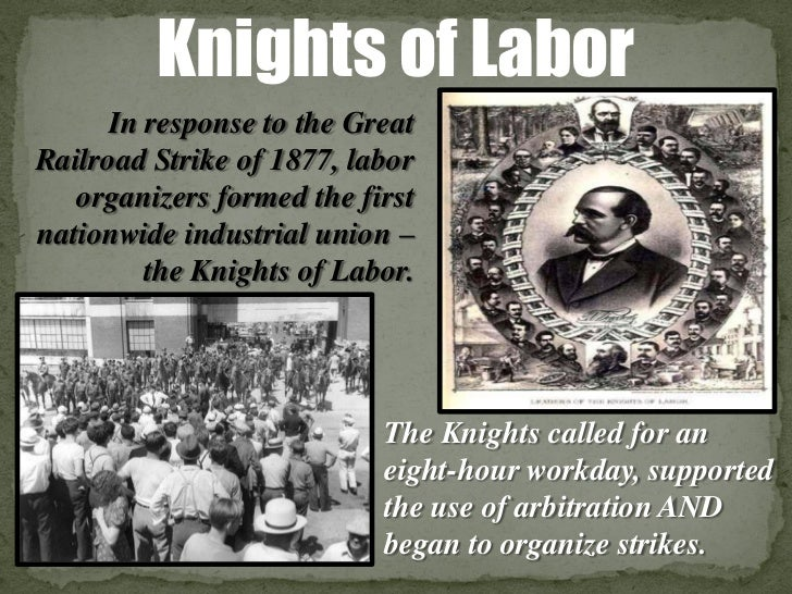 Unit 1 powerpoint #7 (the gilded age the rise of unions)