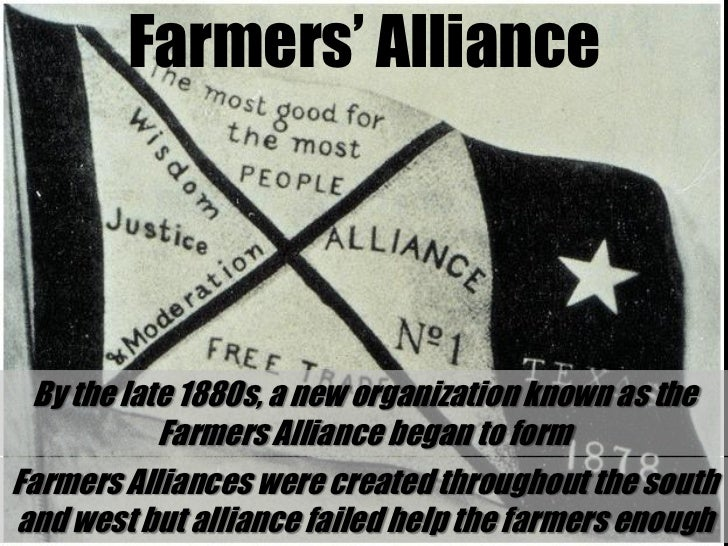 the farmers alliance My theory is that a lot of those reasons and the trigger factor all links to one thing  the alliance system the alliance system is what made countries oppose each.
