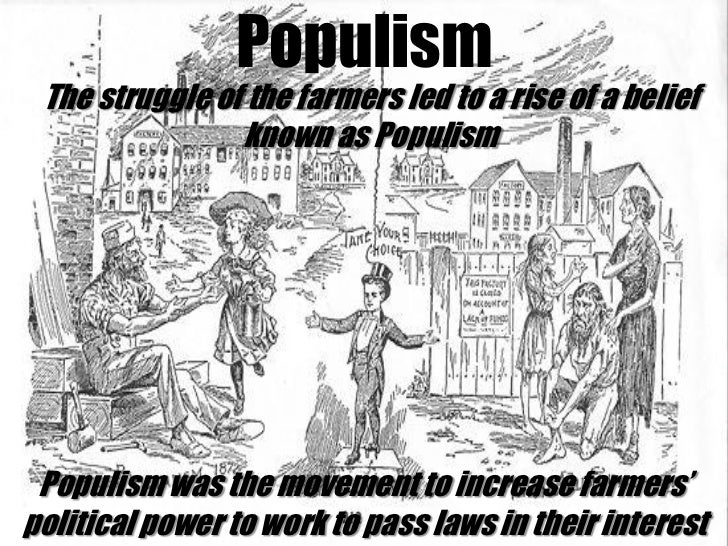 an introduction to the populist party The evidence provided in support of this thesis is the fact during the populist movement, the writer baum was an editor in a newspaper in south dakota and he wrote on issues of politics and the current events surrounding the populist party.