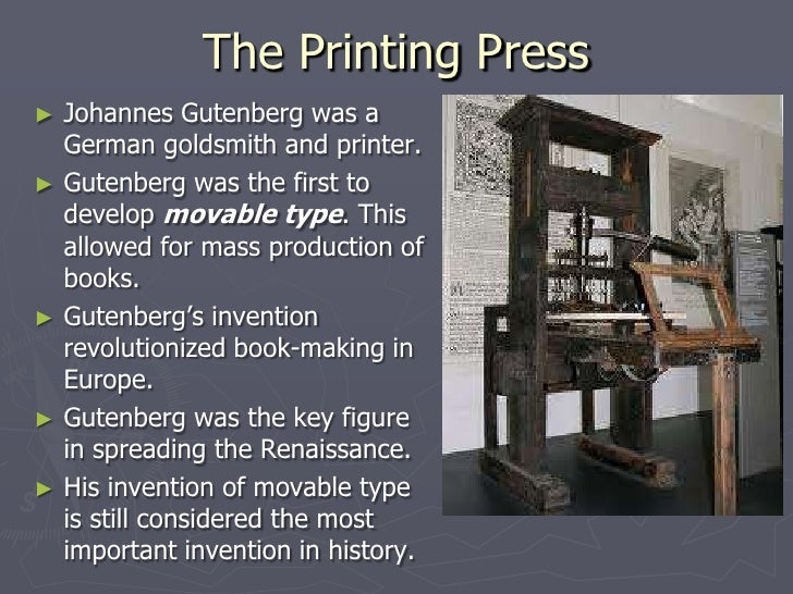 how did the printing press affect the reformation