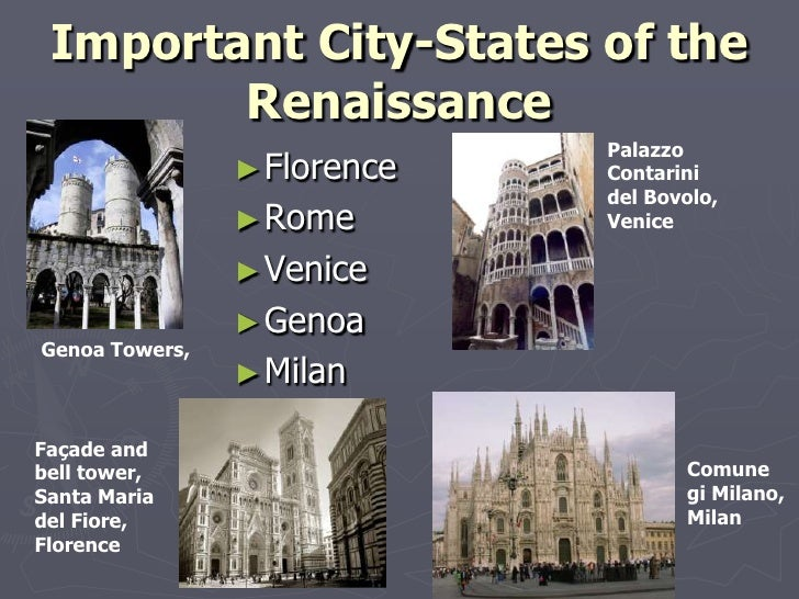 Renaissance reformation powerpoint 5 important city states of the renaissance sciox Choice Image