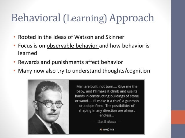 all behaviour is learnt What is learning behaviour learning behaviour emphasises the crucial link between the way in which children and young people learn and their social knowledge and behaviour.
