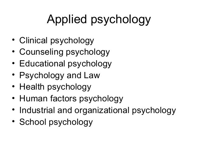 Schools of Psychology