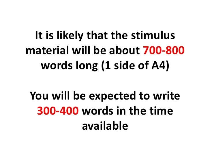 Summary Writing