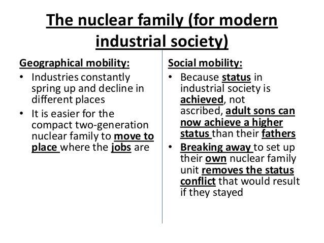Nuclear family essay