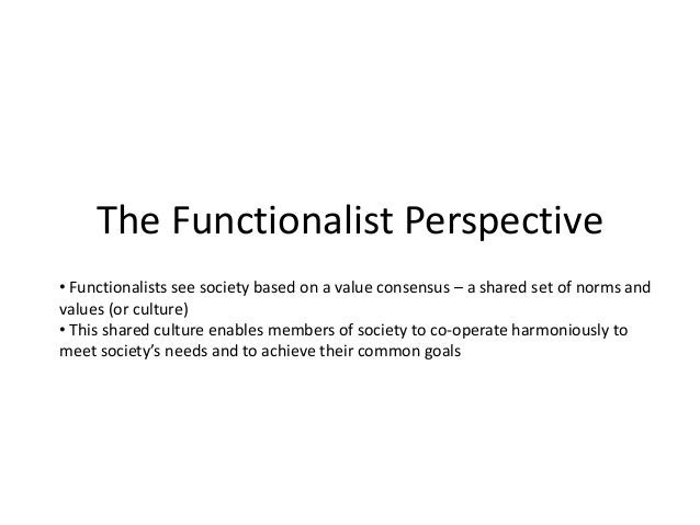 what is functionalism? essay Functionalism is the doctrine that what makes something a mental state of a certain type depends on the way it functions, or the role it plays and not on its internal structure simply put, functionalism gives utmost importance to the function or role a mental state plays.