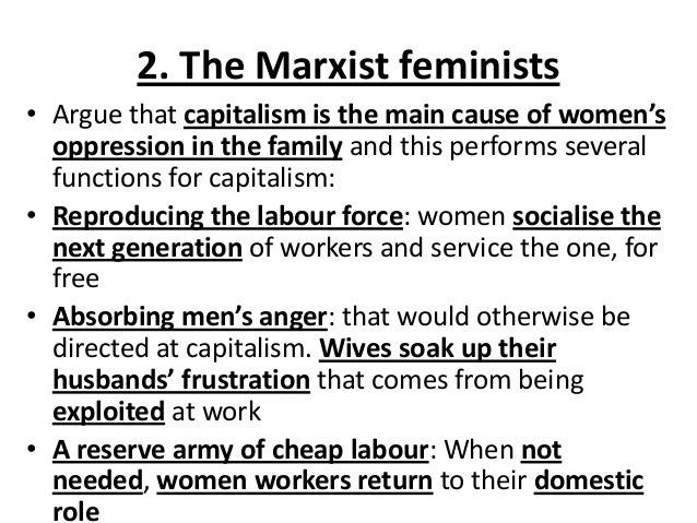 A Critique of Marxist Feminism