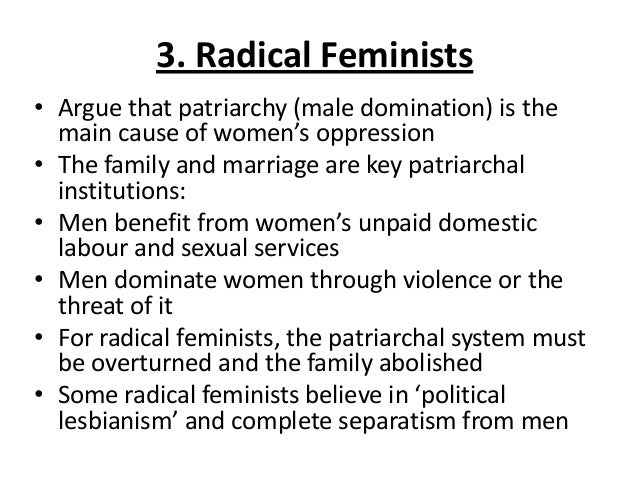 Feminism and the family essay samples